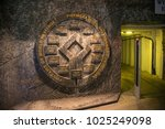 wieliczka  poland   may 28 ... | Shutterstock . vector #1025249098