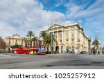 barcelona  spain   december 5 ... | Shutterstock . vector #1025257912