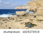 gozo island  malta   30 october ... | Shutterstock . vector #1025273515