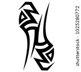 tattoos ideas designs   tribal... | Shutterstock .eps vector #1025280772