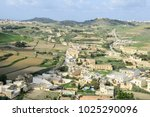 landscape of terraced fields at ... | Shutterstock . vector #1025290096