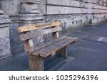 non white only bench in cape...   Shutterstock . vector #1025296396