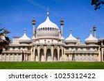 the royal pavilion  brighton... | Shutterstock . vector #1025312422