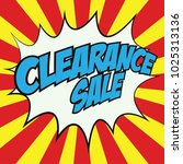 special offer banner with the ... | Shutterstock .eps vector #1025313136