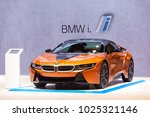 chicago   february 9  the bmw...   Shutterstock . vector #1025321146