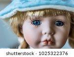 close up of beautiful porcelain ... | Shutterstock . vector #1025322376