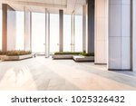 resting area of a building ... | Shutterstock . vector #1025326432