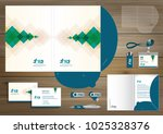 folder template design for... | Shutterstock .eps vector #1025328376