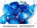 Blue Ice Cubes