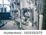 Small photo of Craft beer brewing equipment in brewery! Metal tanks, alcoholic drink production