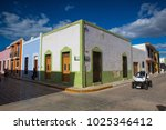 campeche  mexico   january 31... | Shutterstock . vector #1025346412