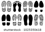 shoe sole  foot feet ... | Shutterstock .eps vector #1025350618