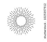 sun burst vector icon    Shutterstock .eps vector #1025357512