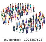 isometric flat 3d isolated... | Shutterstock .eps vector #1025367628
