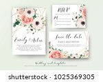 wedding invite  invitation ... | Shutterstock .eps vector #1025369305