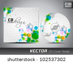 Vector Cd Cover Design With...