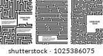 maze texture vintage and place... | Shutterstock .eps vector #1025386075