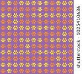 Purple Seamless Patternt Orang...