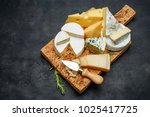various types of cheese  ...   Shutterstock . vector #1025417725
