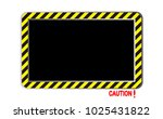 border yellow and black color... | Shutterstock .eps vector #1025431822