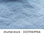 wrinkled soft paper texture | Shutterstock . vector #1025464966