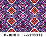 ethnic geometric pattern .... | Shutterstock .eps vector #1025490655