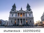 St Paul's Cathedral London At...