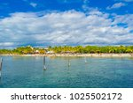 cancun  mexico   january 10 ... | Shutterstock . vector #1025502172