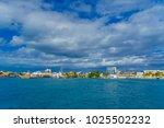 isla mujeres  mexico  january... | Shutterstock . vector #1025502232