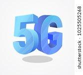 5g technology illustration as... | Shutterstock .eps vector #1025505268