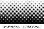 halftone gradient pattern... | Shutterstock .eps vector #1025519938