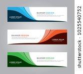 abstract modern banner...   Shutterstock .eps vector #1025540752