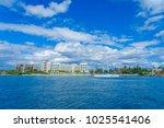 isla mujeres  mexico  january... | Shutterstock . vector #1025541406