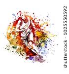 vector color illustration of a... | Shutterstock .eps vector #1025550592