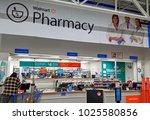 hdr image  walmart pharmacy...   Shutterstock . vector #1025580856