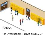 isometric 3d vector...   Shutterstock .eps vector #1025583172