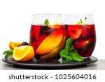 Summer Red Wine Sangria Drink...