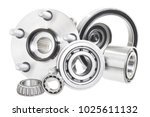 group bearings and rollers ...   Shutterstock . vector #1025611132