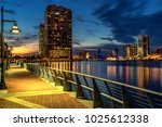 Jacksonville Fl River Walk Night - Fine Art prints