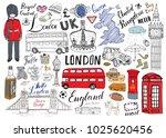 london city doodles elements...   Shutterstock .eps vector #1025620456