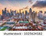 new york  new york  usa midtown ... | Shutterstock . vector #1025624182