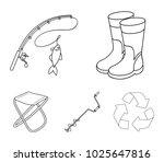 fishing  fish  catch  fishing...   Shutterstock .eps vector #1025647816