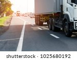 truck on road container motion