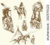 wild west   Shutterstock .eps vector #102570122
