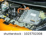 battery hybrid engine car