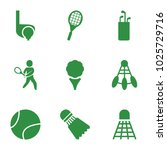 tournament icons. set of 9... | Shutterstock .eps vector #1025729716