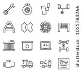 flat vector icon set   wrench... | Shutterstock .eps vector #1025783266