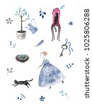 Hand Drawn Stickers Pack With...