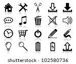 icon set. vector illustration... | Shutterstock .eps vector #102580736