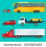 city cars and vehicles... | Shutterstock .eps vector #1025825602